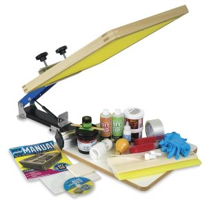 DIY Print Shop Screen Printing Kits