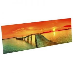 ChromaLuxe Aluminum Photo Panels – Gloss White- 12in x 18in
