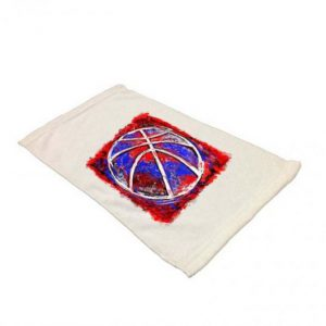 MicroFiber Velour Sports Towel for Sublimation Printing – 11″ x 18″