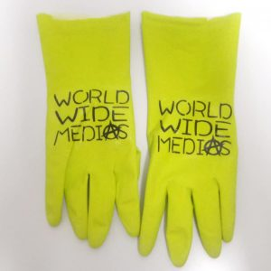 World Wide Medias Safety Gloves, Non Slip Natural Latex Chemical Resistant Gloves
