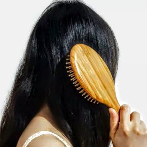 Premium Wooden Bamboo Hair Brush Improve Hair Growth Wood hairbrush
