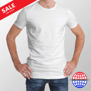 7.37oz 100% Polyester A4 Blank Sublimation T-Shirt