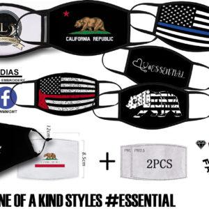 #Essential Designer Style Face Masks