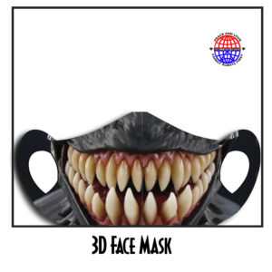 3D Blank Polyester Face Mask (SOLD OUT)