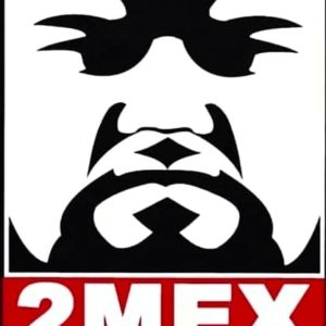 2MEX Of Mexican Descent Limited Edition Face Mask 1/25