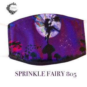 Sprinkle Fairy Mask – Wild Flowerz +2 PM2.5 Filters Adjustable straps