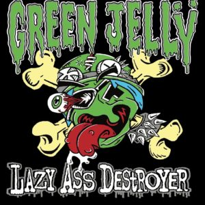 Lazy Ass Destroyer x Green Jelly Face Mask by World Wide Medias